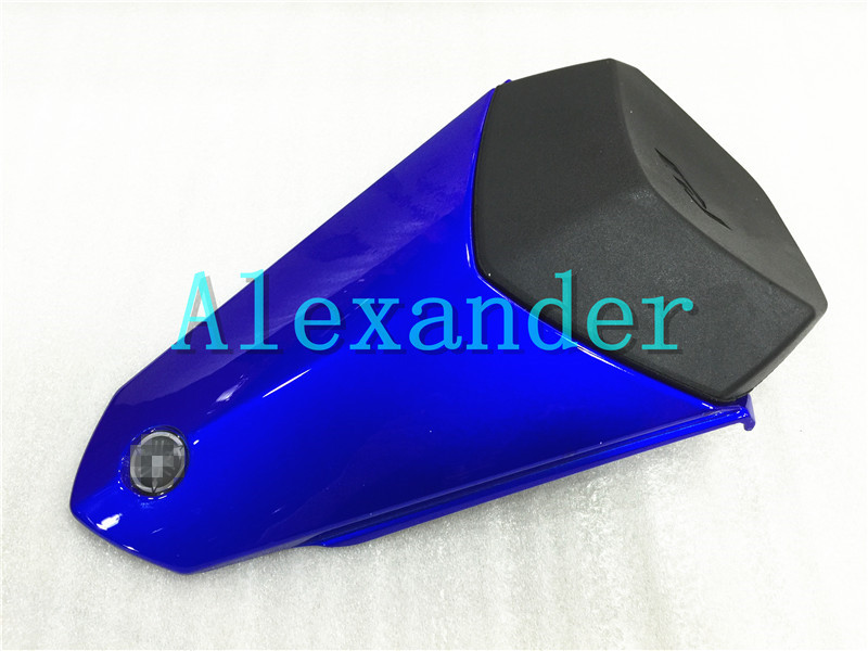 Blue Rear Seat Cover Cowl Solo Motor Seat Cowl Rear Fairing Set For Yamaha YZF1000 R1 2015 2016 2017 r1 CC YZF 1000