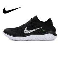 Оригинальная продукция Nike FREE RN FLYKNIT; женские кроссовки для бега; уличные спортивные кроссовки; дизайнерская Легкая спортивная обувь; официа