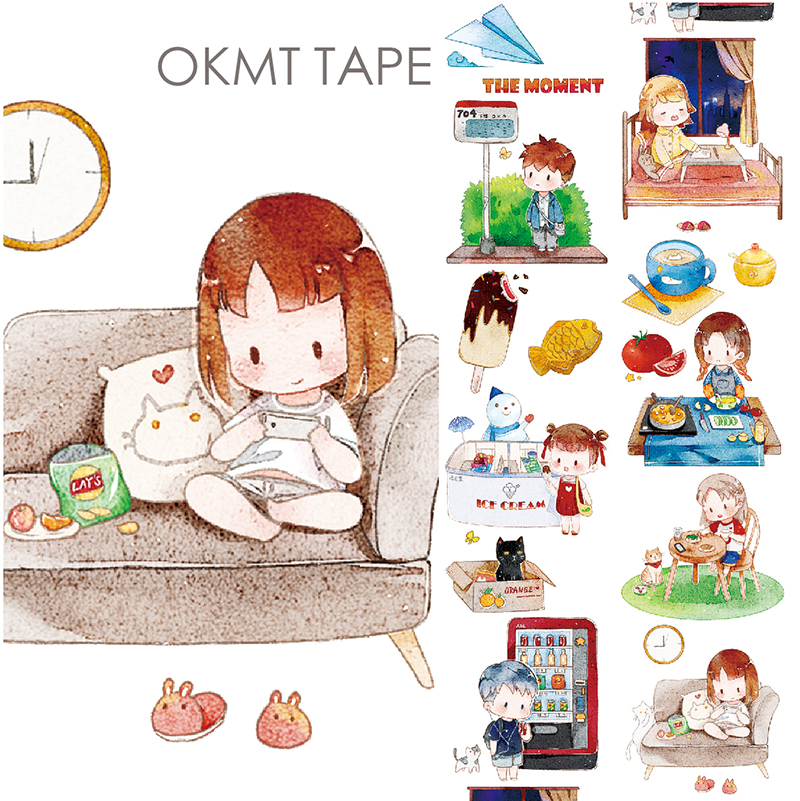 все цены на Daily Life Masking Tape Decorative Washi Tape Scrapbooking Japanese Stationery Washitape School Supply Material Escolar