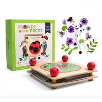Handcraft Preparing of Plant Specimens Machine Toy juguetes Montessori Educational Wooden Toys For Children Montessori Materials