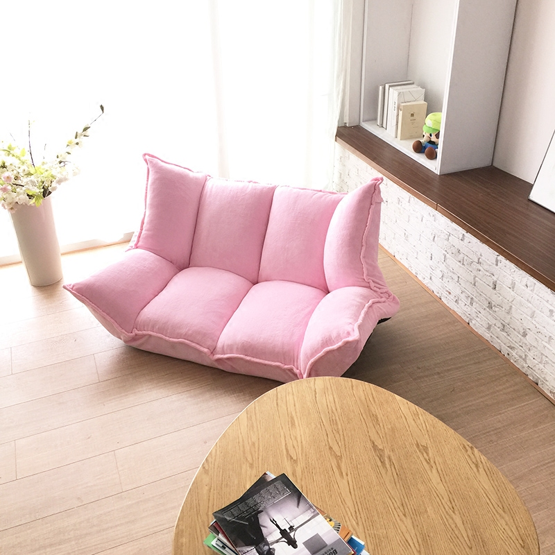 Multifunctional sweet lazy sofa sofa single tatami-in Living Room ...