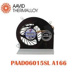 Процессор вентилятор охлаждения, пригодный для MSI GE60 16GA 16GC Серия ноутбуков PAAD06015SL 0.55A 5VDC A166 3pin