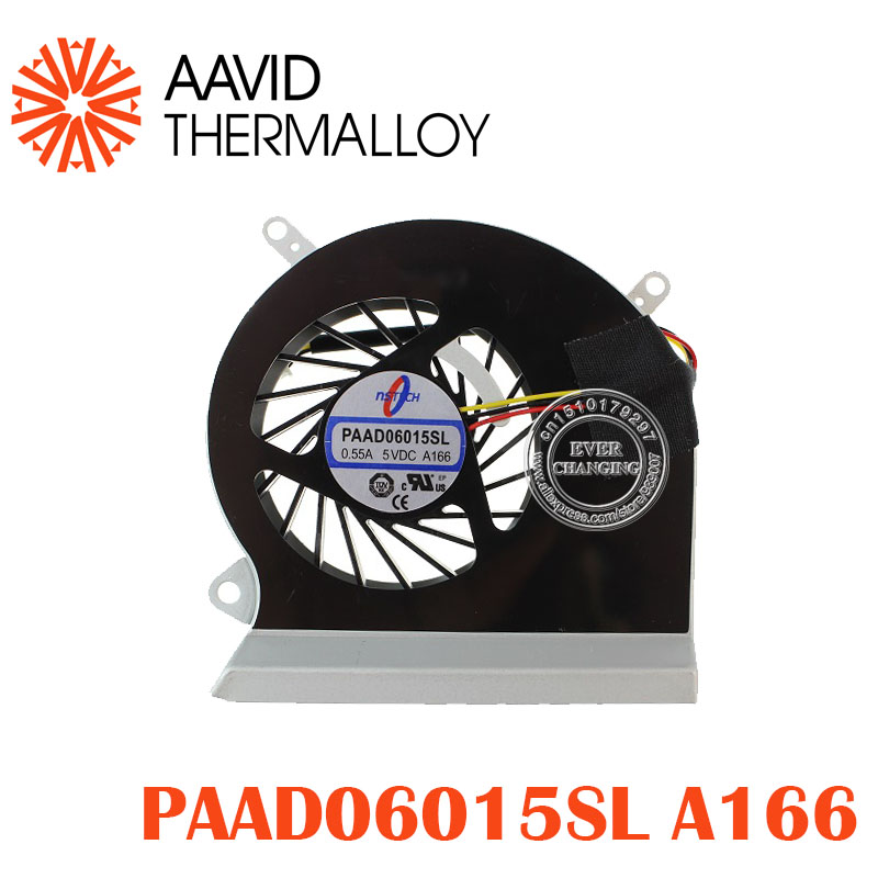 CPU Cooling Fan fit for MSI GE60 16GA 16GC serie di notebook PAAD06015SL 0.55A 5VDC A166 pinCPU Cooling Fan fit for MSI GE60 16GA 16GC serie di notebook PAAD06015SL 0.55A 5VDC A166 pin