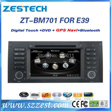 ZESTECH High performance dual-core HD digital touch screen car dvd for BMW E39 X5 E53 M5 car dvd with radio,RDS,3G+factory