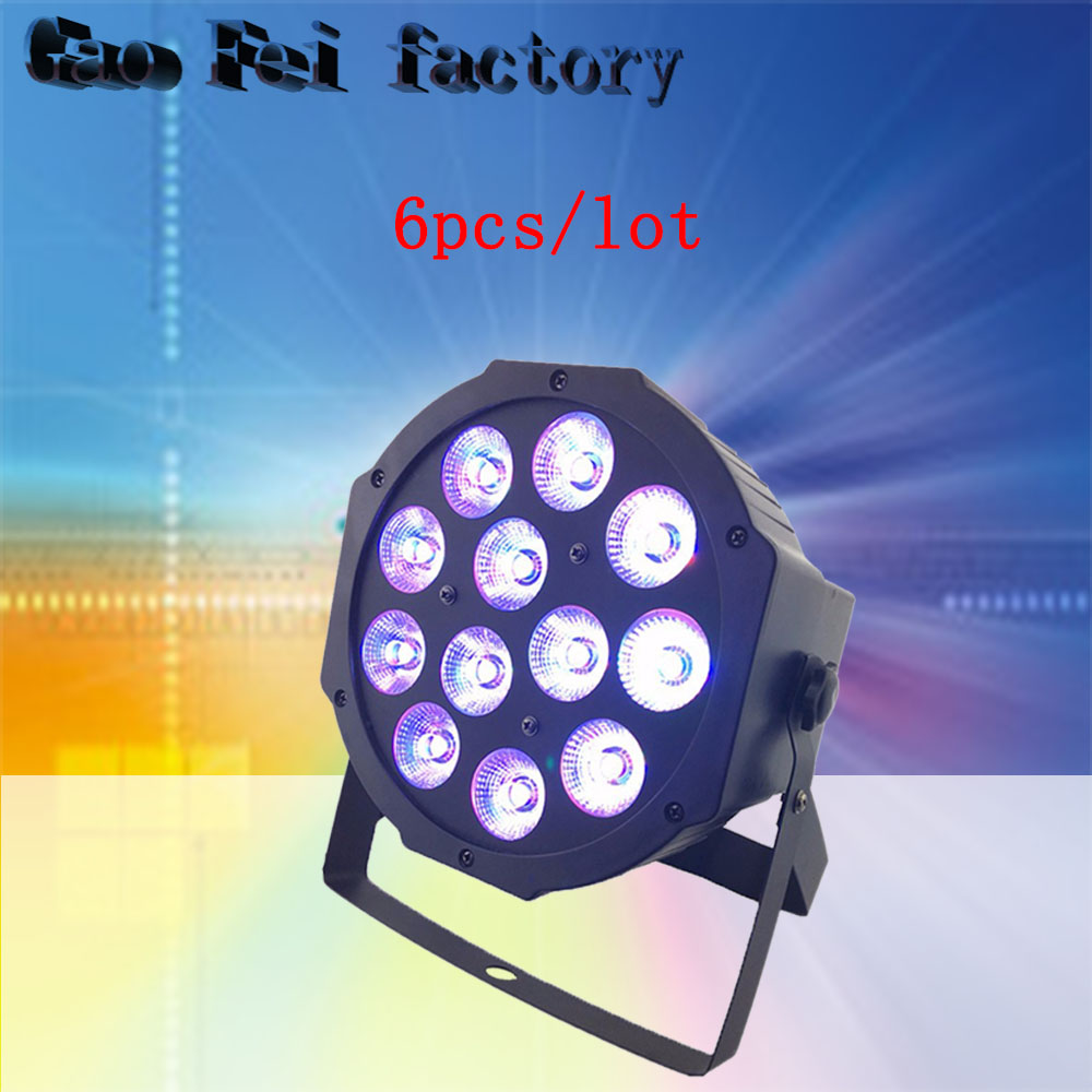 6pcs/lot 12X12w Led par stage light RGBW disco party lights laser DMX Dj effect controller Dj Equipment projector luces disco 6pcs/lot 12X12w Led par stage light RGBW disco party lights laser DMX Dj effect controller Dj Equipment projector luces disco