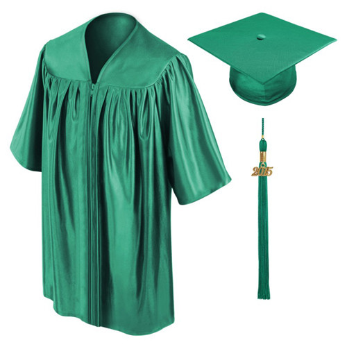 Emerald Preschool Graduation Gowns-Be.Fore