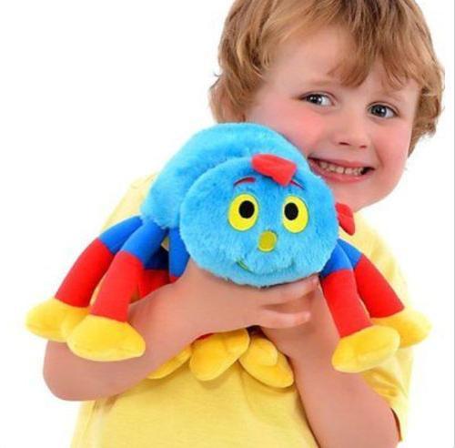 Новинка, Подлинная шерсть и Tig Spider Woolly, 14 дюймов, мягкая плюшевая кукла, игрушка, подарок для ребенка