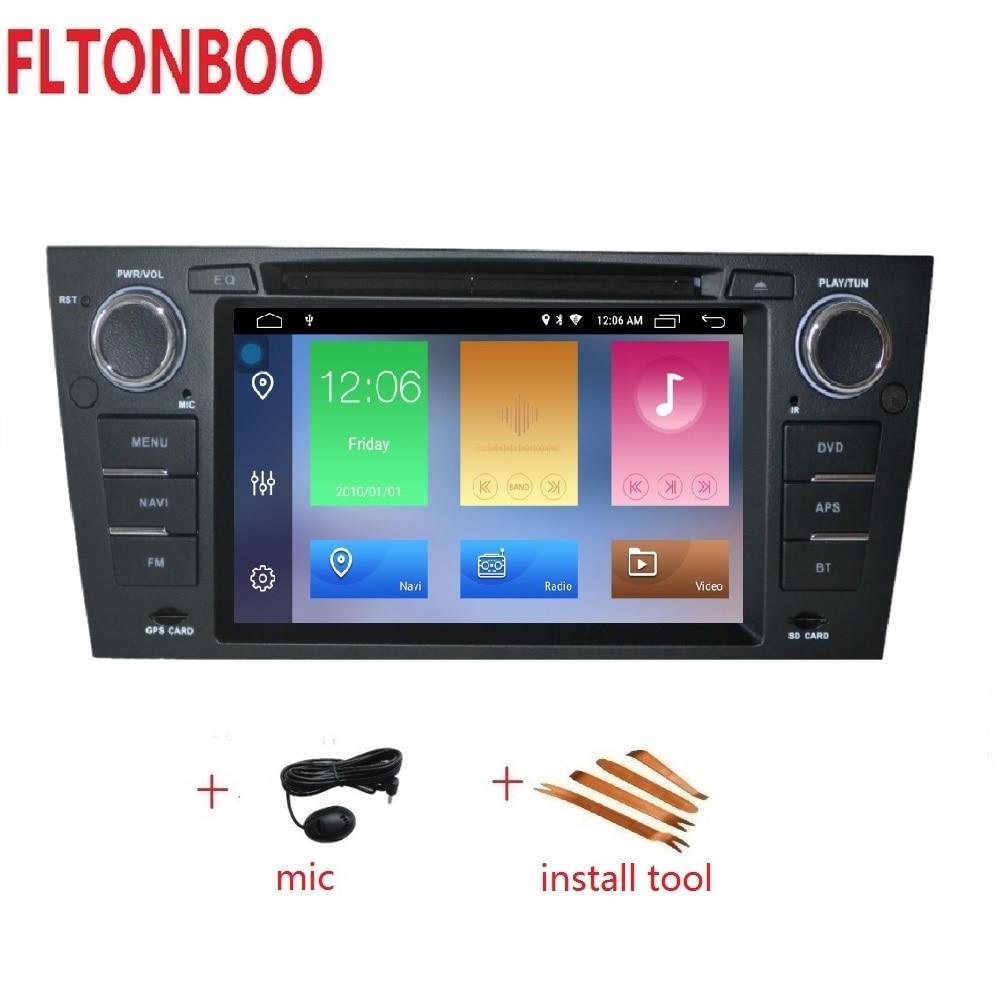 7 Android 9 Car GPS Navigation radio dvd player for bmw E90 E91 E92 E93 3
