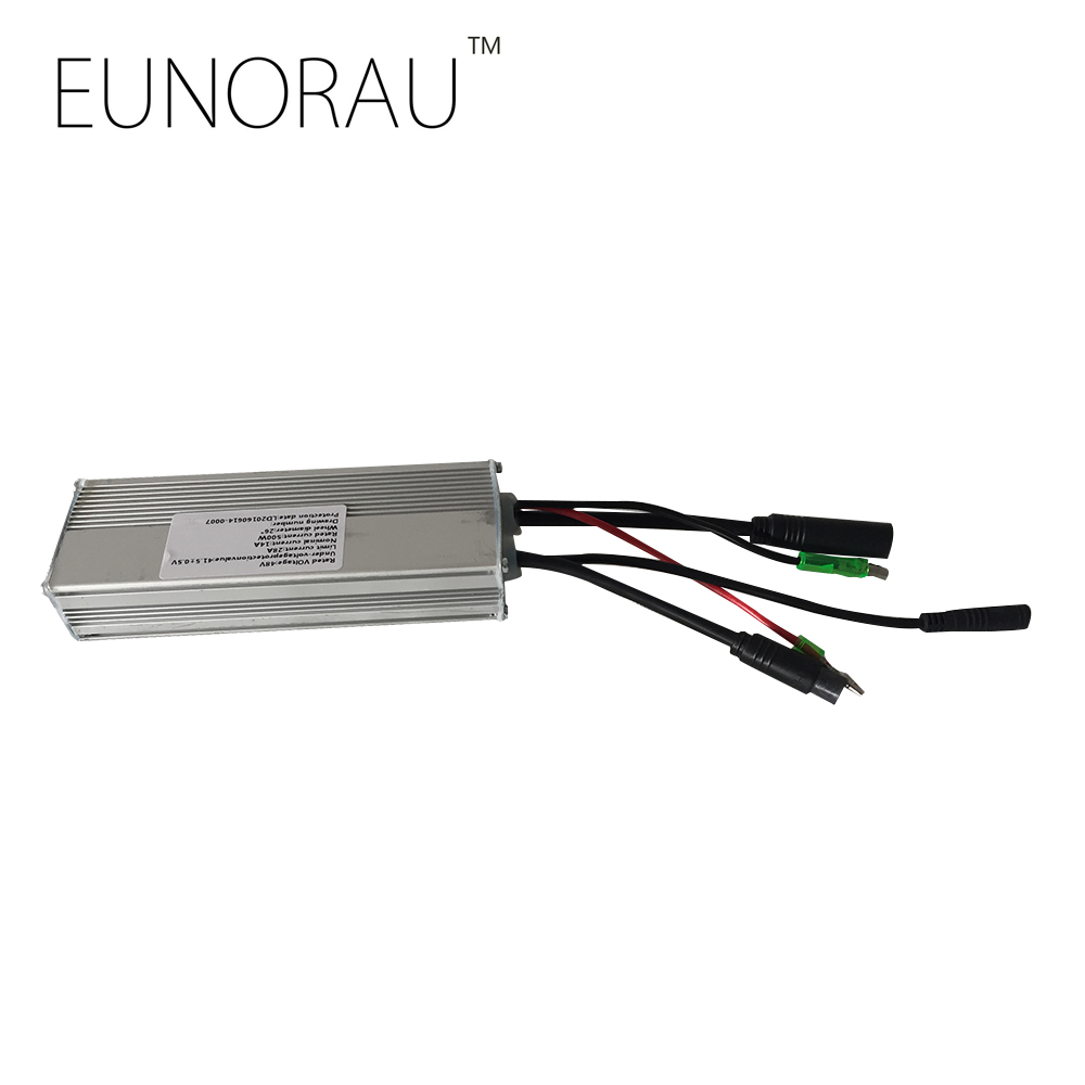 48V25A sin-wave controller for EUNORAU 48V1000W rear hub motor kit red sin w edp spr