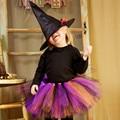 Crianças Meninas Saia Tutu Ballet Rainbow Enfant Meninas Saias de Tule Tutu Bebê Fofo Tutus Pettiskirt Para O Aniversário Hallowmas