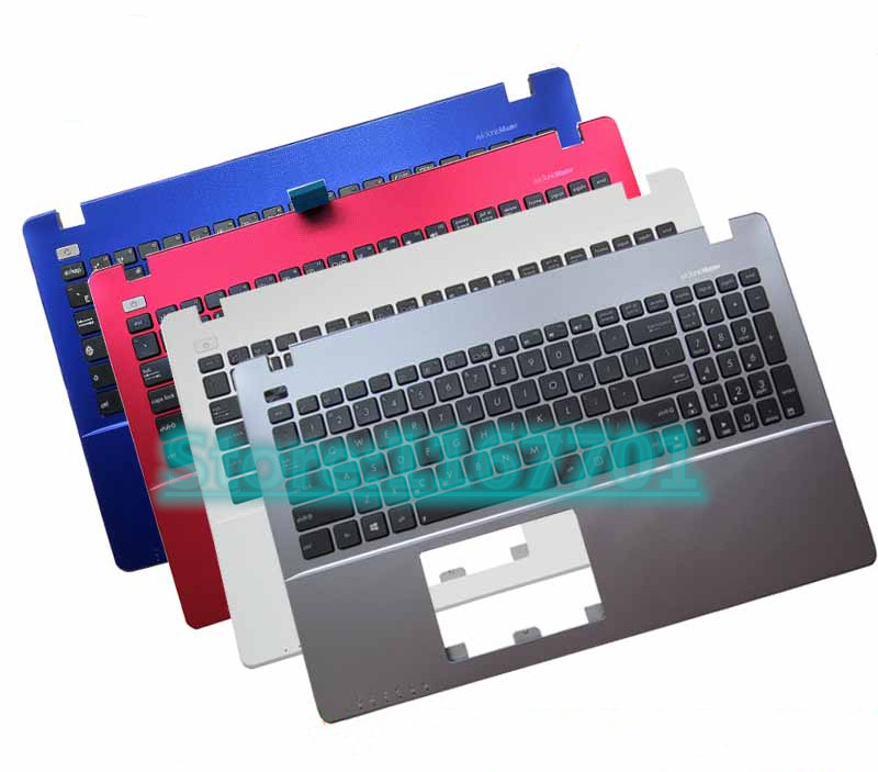 Laptop <font><b>Keyboard</b></font>/upper Case/<font><b>Cover</b></font> for <font><b>Asus</b></font> <font><b>X550</b></font> X550V F550J F550V A550 Y581C R510 R513C K550JK X552W W50J W518L Y582L US/UK/RU/EU image