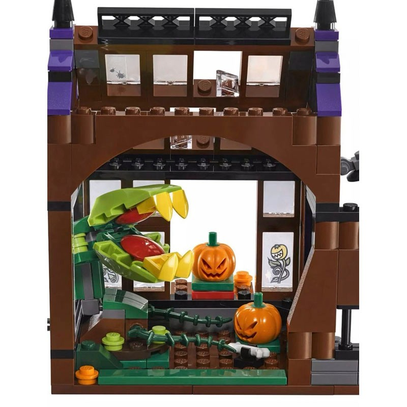 Scooby Doo Mystery Mansion Building Block ScoobyDoo Shaggy Velma Fit Lego Figure