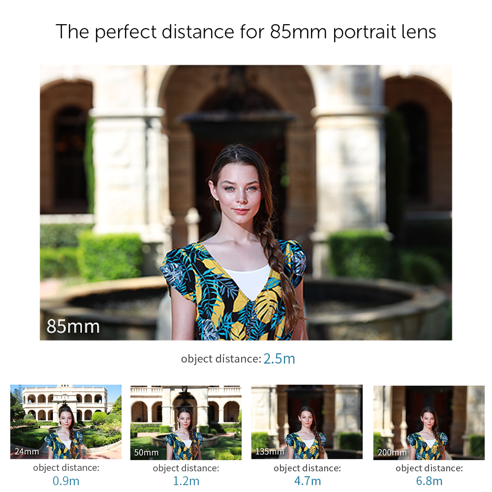 Image 3 - APEXEL Optic Pro Lens, 85mm 3X HD Telephoto Lens professional portrait  Lens, No Dark Circle for Samsung huawei Xiaomi cellphone-in Mobile Phone Lens from Cellphones & Telecommunications