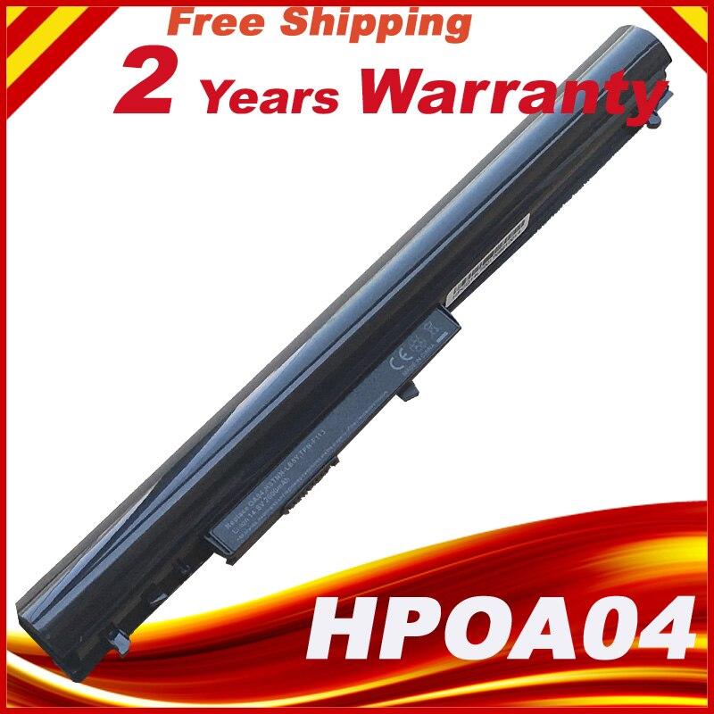 New OA04 OA03 Laptop Battery for HP 240 G2 CQ14 CQ15 HSTNN-PB5S HSTNN-IB5S HSTNN-LB5S 740715-001 TPN-C113(China)