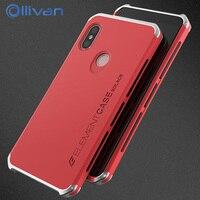 Ollivan Metal Case For Xiaomi Redmi Note 5 Case Aluminum Ultra Thin Metal Frame Hard PC