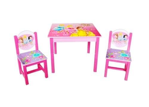 Tafel Met 2 Stoelen Kinderen.Prinses Tafel En Stoelen Set 1 Tafel 2 Stoelen Tafels En