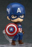Anime Figure Superhero Captain America Nendoroid 618 Juguetes PVC Action Figure Brinquedos Model Doll Kids Toys