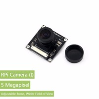Parts Raspberry Pi Camera I Module Adjustable Focal Length Night Vision Camera 5MP OV5647 Sensor For