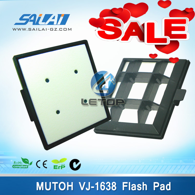 flash pad for mutoh 1638 inkjet printer/mutoh printer flash pad/flushing absorbent assyflash pad for mutoh 1638 inkjet printer/mutoh printer flash pad/flushing absorbent assy