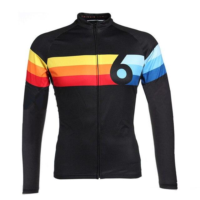 twin six Racing Team Cycling Jersey Long Sleeve motocross mtb bicicleta Bike  camisa Ciclismo Maillot clothing 2018 e122608d2