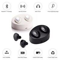 TWS Mini Twins Wireless Bluetooth Earphones CSR 4 1 Handsfree Stereo Bluetooth Headset With Mic