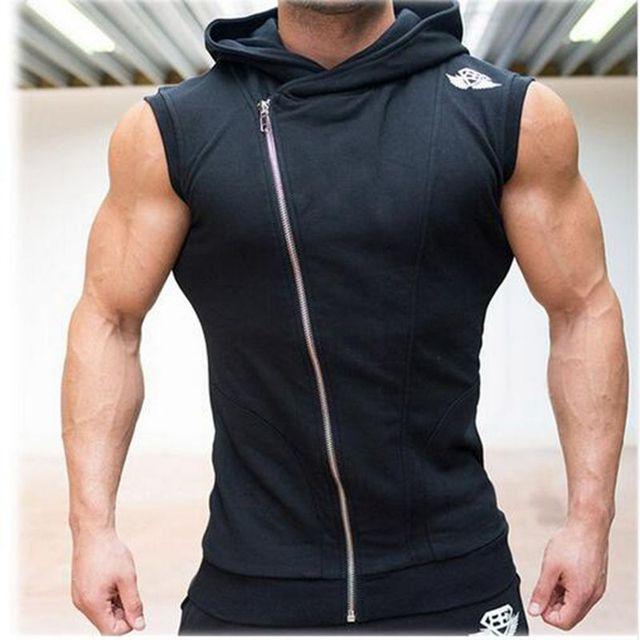 Forma Parte Superior Do Tanque de Musculação Longarina Hoodies Wissenschaft Sexy camisa Sem Mangas Camisa Tubarão Schädel Singuletts Kleidung