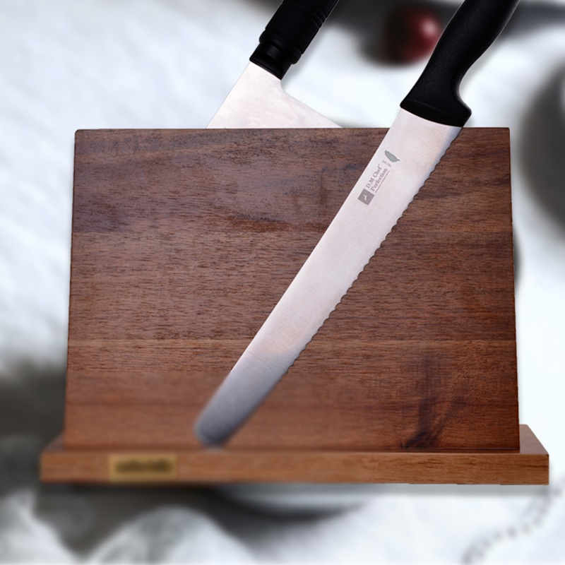 Solid Wood Magnetic Knife Holder Ventilation Drying Knife Storage Block Knife Stand Magnet Kitchen Utensil Cooking Tools 11