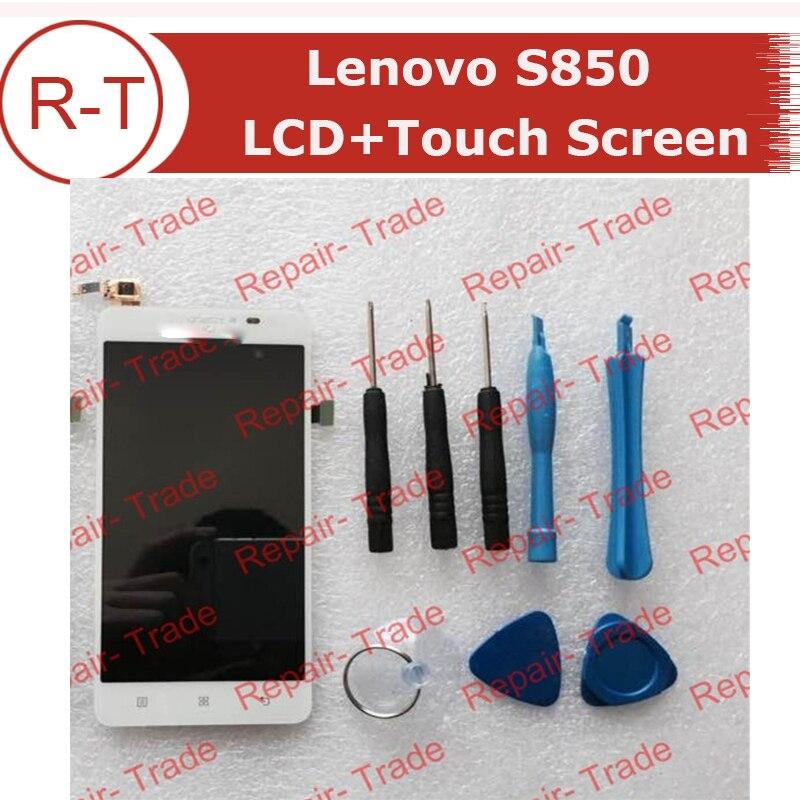 Para Lenovo S850 Pantalla LCD de Repuesto Con Herramientas Gratuitas de Reparaci