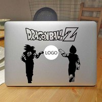 Dragon Ball Goku & Vegeta Anime Vinyl Máy Tính Xách Tay Sticker đối với Apple Macbook Decal Pro Air Retina 11 12 13 15 inch Mac Book Da Decal