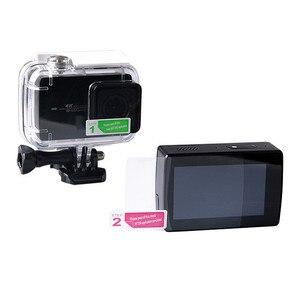2 uds película protectora de pantalla LCD para Cámara de Acción Xiaoyi 4K Xiaomi YI