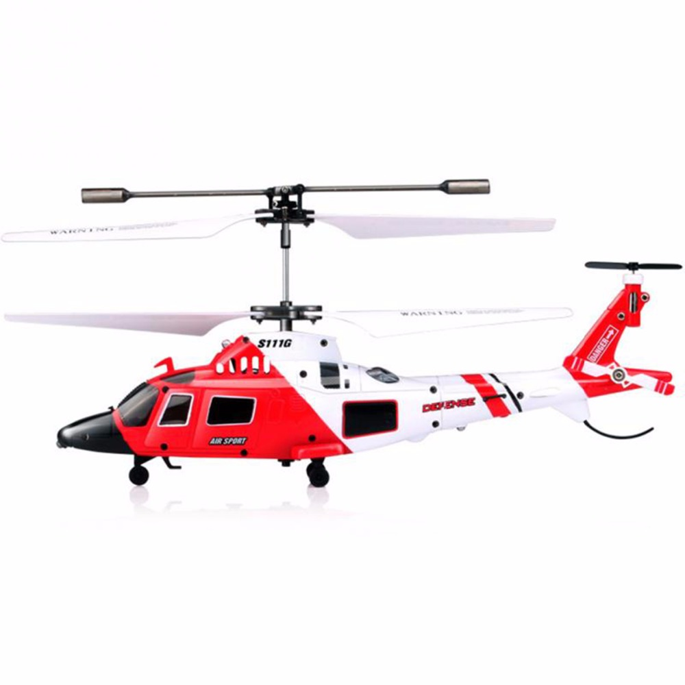 SYMA S111G 3CH Mini Simulation Army Remote Control Helicopter with Gyro Shatterproof LED Lights USB Cable RC Indoor Helicopter syma 107e remote control mini drone 3ch rc mini helicopter gyro crash resistant baby gift toys smallest helicopter kid air plane
