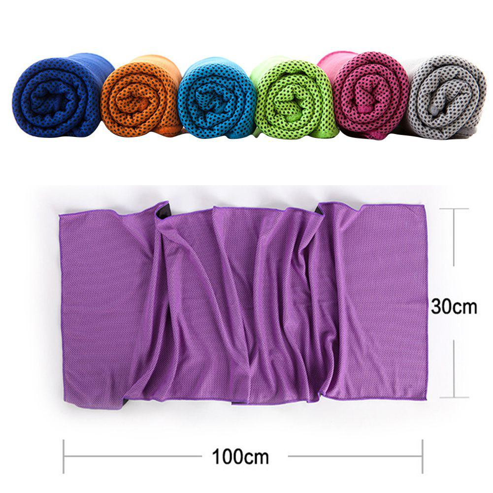 Microfiber Portable Quick-drying Sports Cooling Towel Travel Jogger Cloth Toalha Camping Swimming Gym Washcloth Free Shipping