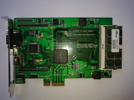 S5600 PCI-EXPRESS PCIE Development Board PCIE X4 FPGA Development Board PCIE Development Board