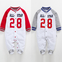 Christmas Baby Newborn Footies Autumn Winter Striped Long Sleeve Jumpsuit Pajamas Baby Boys Bebes Clothes 3-12M [category]