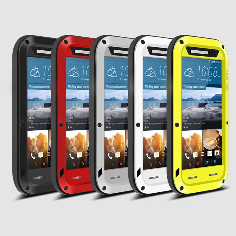 bilder für Liebe Mei Rüstung Cover Unterwassergehäuse für HTC M8 M9 M10 U11 Desire 820 A9 E8 Fundas Shell Gehäuse Wasser/Dirt/Shock/Regen Proof