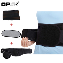 OPER Lumbar Support High Elastic Breathable Mesh Health Care With Steel Waist Support Brace Posture Corrector Back Belts BO-16-1