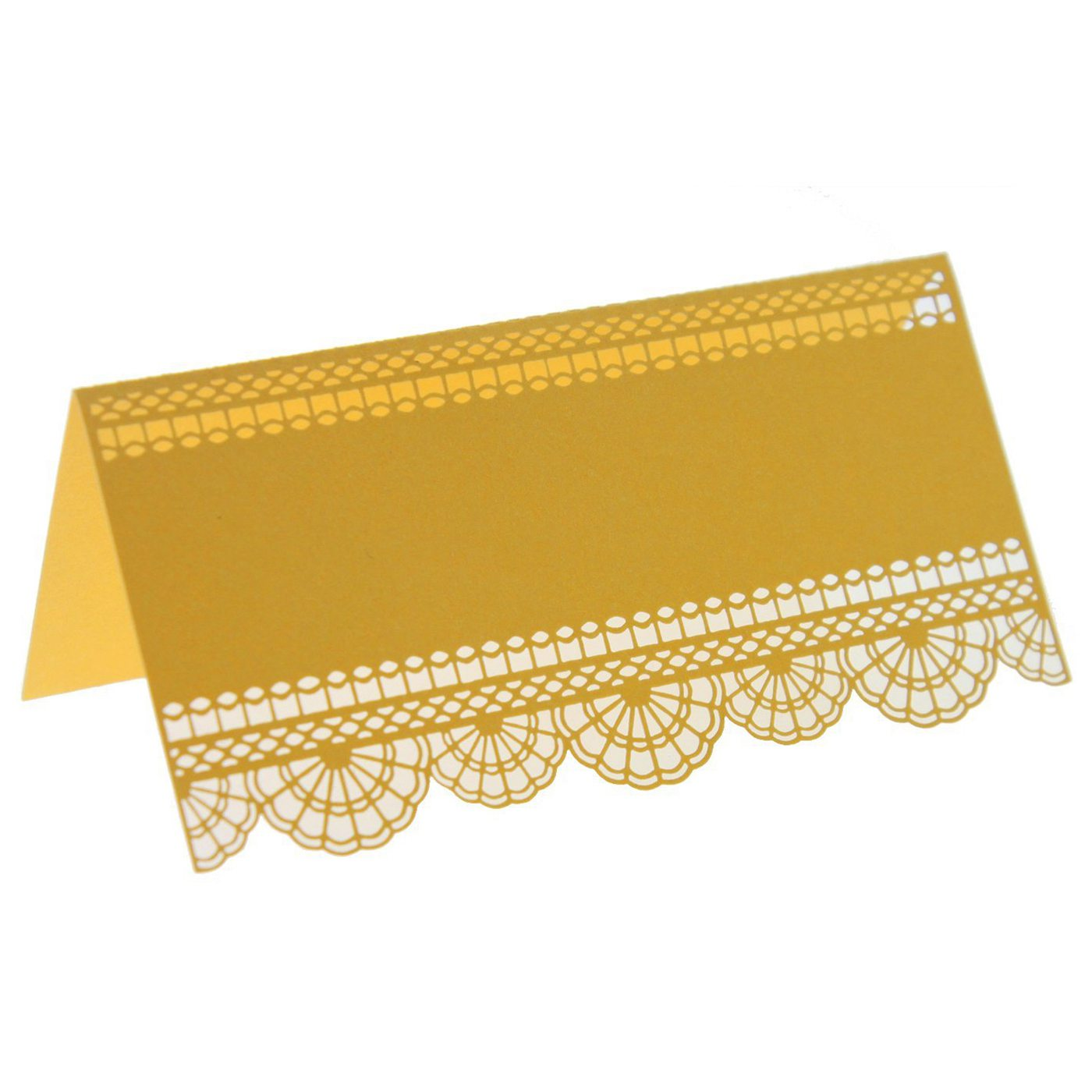 Pack of 60 Wedding Table Numbers Place Card Guest Seating Escort Name Cards for Wedding Party Decoration (Gold)