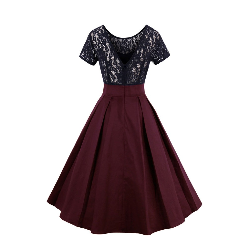 7d6ca35380e Plus Size Vintage Dresses With Sleeves