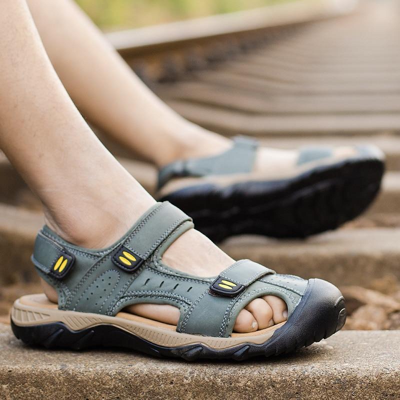 ONLYMONKEY 38 48 Large Size Shoes Men Hiking Sandals Summer Outdoor Climbing Trekking Sport Shoes Men