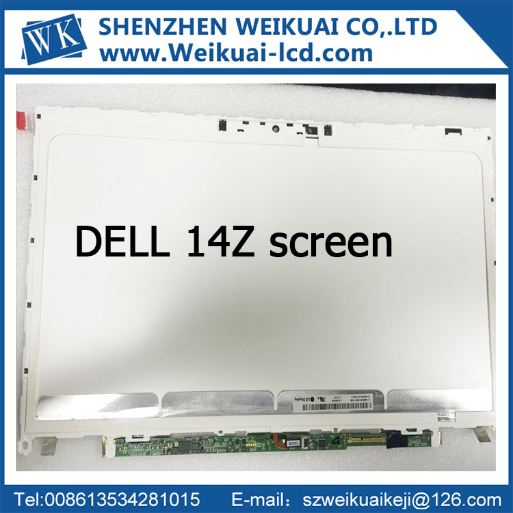 Original New lcd display for dell xps 14z screen LP140WH6 TJA1 14