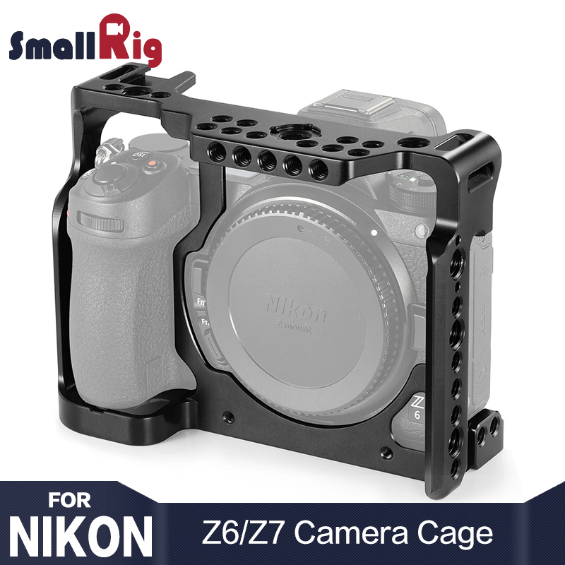 SmallRig Z6 Camera Cage for Nikon Z6 for Nikon Z7 Camera W Arri Locaing Holes Shoe