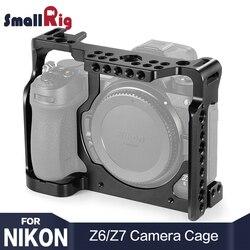 Klatka operatorska SmallRig Z6 do aparatu Nikon Z6/do aparatu Nikon Z7 W/ Arri otwory do mocowania butów fr Monitor mikrofon dołącz 2243 w Klatki do aparatu od Elektronika użytkowa na