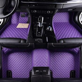 Custom car floor mats for Chery All Models A1/ 3/5 Tiggo Cowin Fulwin Riich E3 E5 QQ3 6 V5 Tiggo X1 car styling floor mat