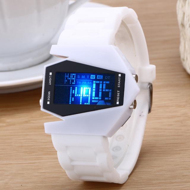 Luxury Digital Alarm Stopwatch Back Light LED Watch Women Men Children Sports Wrist Watch Clock relogio feminino masculino 8A64