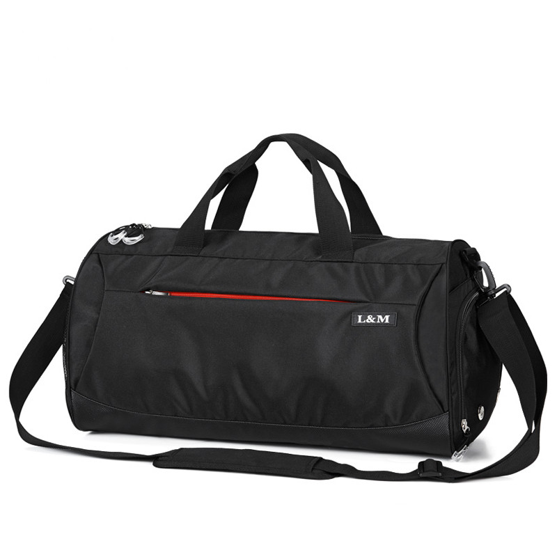 4eb9326b258f Waterproof Nylon Sport Gym Bag Women Yoga Handbag Fitness for Men Shoulder  Training Camping Travel sac de sport 50x25x26 cm