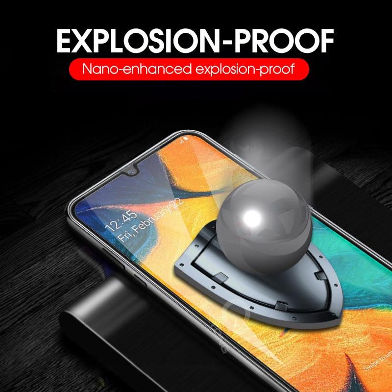 9D zakrzywione szkło hartowane na Samsung Galaxy A30 A50 A10 ochronne na ekran do Samsung M10 M20 M30 M40 A40 A60 a70 A80 A90 15