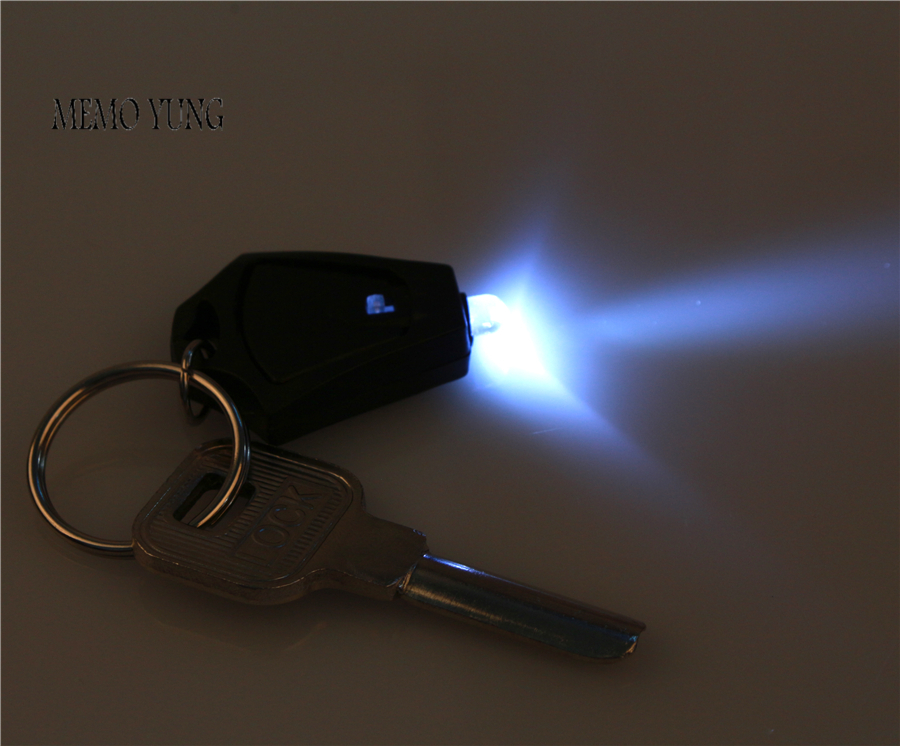 6 pcs lot led light mini led keychain white light 22000mcd flashlight with keychain electric. Black Bedroom Furniture Sets. Home Design Ideas