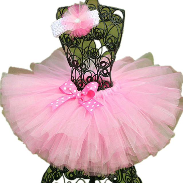 Handmade Fluffy 3 layer Baby Girl Tutu Skirt Kids Baby Tulle Skirt for Birthday Party Casual Ball Gown Children Dance Skirts