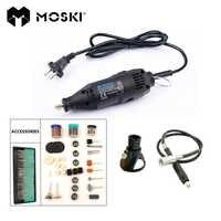 MOSKI, MINI broyeur 180W rectifieuse Portable perceuse électrique à vitesse Variable