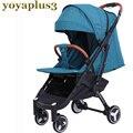 Yoya plus3 kinderwagen Lichtgewicht en handig Opvouwbaar Kan zitten, liggen Rusland gratis post